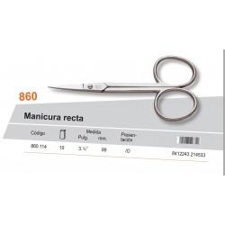 "PALMERA / TIJERA MANICURA RECTA 3 1/2"" - PALMERA CALIDAD"