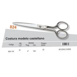"PALMERA / TIJERA COSTURA MODELO CASTELLANO 4"" - PALMERA CALIDAD"