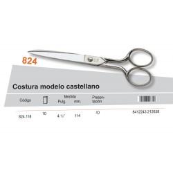 "PALMERA / TIJERA COSTURA MODELO CASTELLANO 4 1/2"" - PALMERA CALIDAD"