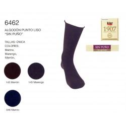 "KLER 6462 - pack de 6 calcetines algodon ""sin puño"""