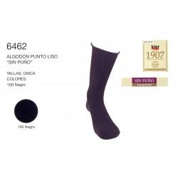 """KLER 6462 -  calcetines algodon """"sin puño"""""""