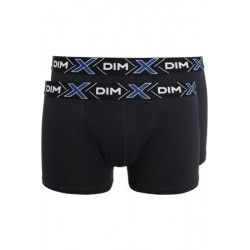 DIM BOXER COTON STRETCH PACK 2