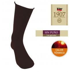 KLER 6639 - calcetin termico modal sin puño