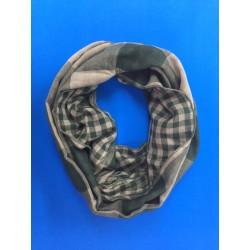 Pañuelo de cuello unisex reversible