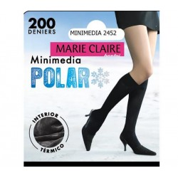 MARIE CLAIRE 2452 - mini media polar con interior termico