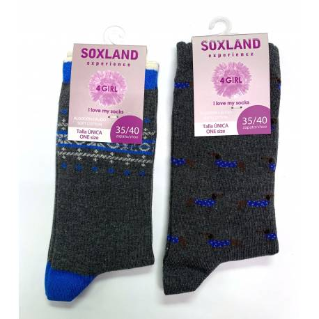 Calcetín Soxland 26033-pack 2