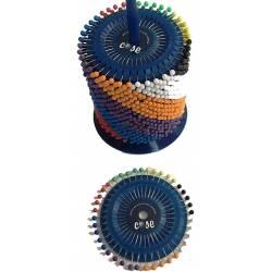 COSE 430103 - Alfiler con cabeza de color