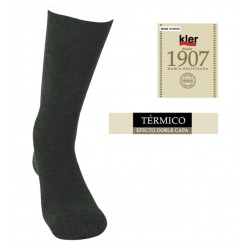 KLER 6762 - calcetin termico pack 3 color surtido